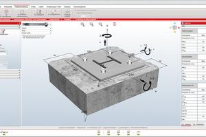 """<div class=""""bildtext"""">Die Bemessungssoftware Fischer Fixperience unterstützt bei der Bemessung von Befestigungen mit Dübeln, Ankern, Schrauben.</div>"""