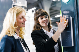 """<div class=""""bildtext"""">Im Trend: Biometrische Zugangserkennung, die gut mit den physischen Sicherheitseinrichtungen vernetzt werden muss.</div>"""