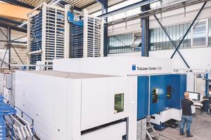 """<div class=""""bildtext"""">Arbeiten die Dienstleister mit High-Tech-Maschinen wie Kaysser, profitiert die Qualität der Metallbaubetriebe.</div>"""