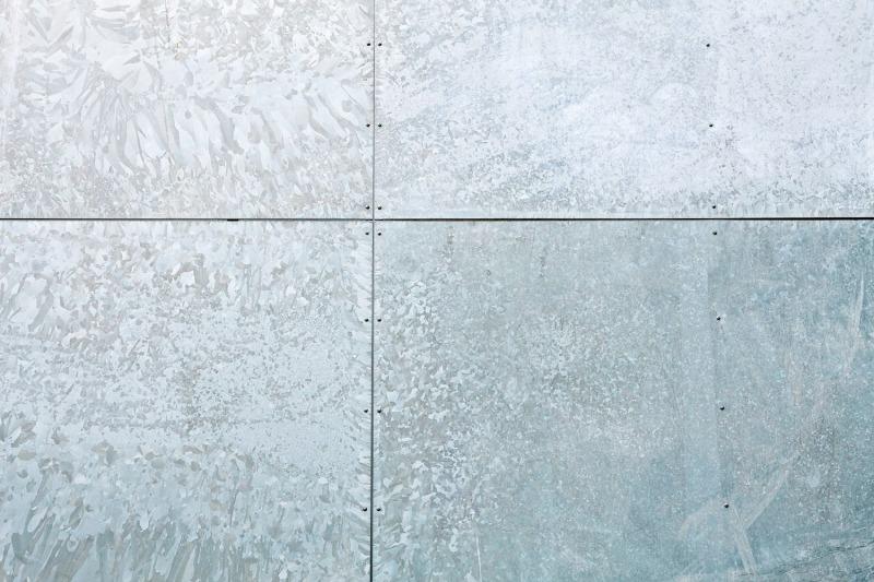 Metallbau for Fassadenverkleidung in holzoptik aus verbundwerkstoff