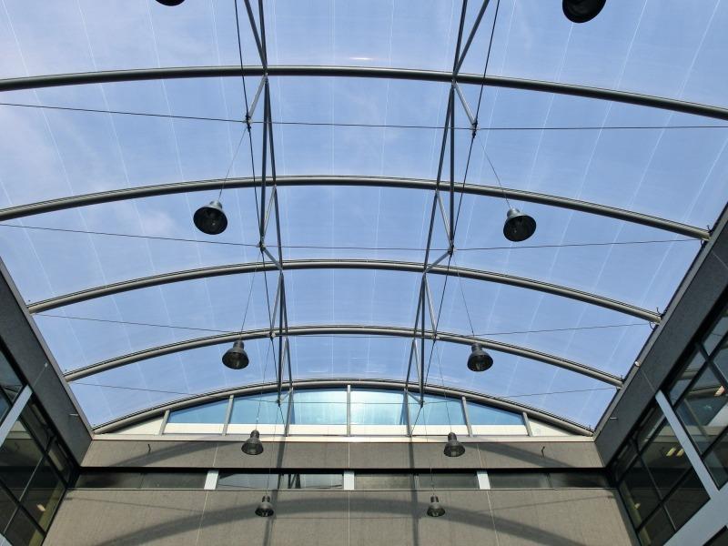 Die Spezielle Dachkonstruktion Soll Eine Garantie Für Maximale Isolierung  Gegen Hitze Und Kälte Bieten.