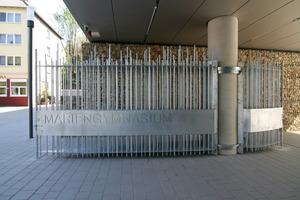 Verzinkerpreis 2007: Toranlage des Marien-Gymnasiums in Essen-Werden von Michael Stratmann, Werkstatt für Metallgestaltung, Essen<br />