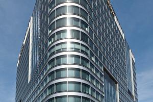 Alpha Rotex gilt mit knapp 68 Metern als das höchste Gebäude am Frankfurter Flughafen