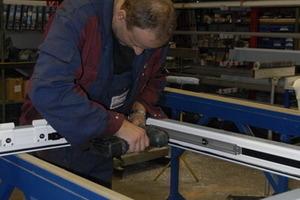 Qualitätsarbeit: Dank der Mitgliedschaft bei der A/U/F leisten die Metallbauer einen Beitrag zum Thema Nachhaltigkeit<br />