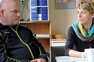 Das Unternehmerehepaar Ulf und Steffi Tauschke<br />