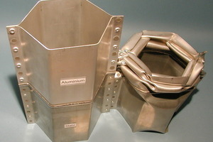 Crash-Test bestanden: Alu verformt sich und Stahl hält den Abstand sicher<br />