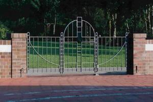 Verzinkerpreis 2003: Das Friedhoftor von Alfred Bullerman erhielt eine Belobigung