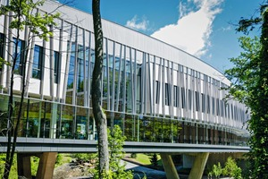 """<div class=""""bildtext"""">Vogelschutzglas Isolar Ornilux am Vassar College/USA.</div>"""