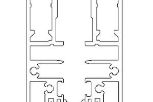 Die ECO Grundkonstruktion mit eingeclipster Edelstahlfeder<br />