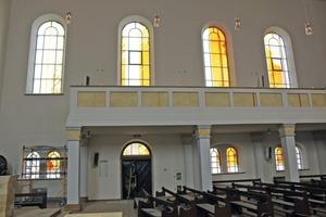 """<div class=""""bildtext"""">Für die St. Paulskirche in Odessa fertigte Wimmer die Fensterrahmen für die Kunstglasscheiben.</div>"""