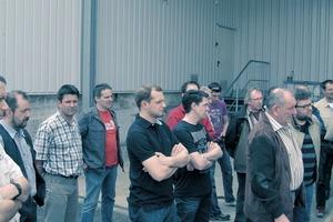 Metallbauer sind an den Seminaren der Siegener Verzinkerei Gruppe sehr Interessiert<br />