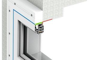 """<div class=""""bildtext"""">Die Vorbauzarge ist ein geprüftes Montagesystem für den Einbau von Fenstern<br />in der Dämmebene.</div>"""