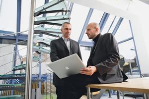 """<div class=""""bildtext"""">Die beiden Geschäftsführer der MetallArt GmbH Johannes Schmid (l.) und Simon Graf (r.).</div>"""