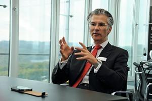 Thomas P. Wagner, Vorsitzender der Dorma Geschäftsführung