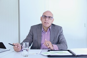 """<div class=""""bildtext"""">Umberto Colicchio leitet bei der SMU den Fachverband Metallbau.</div>"""