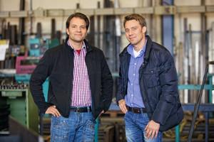 Geschäftsführer: Michael und Joachim Ebinger (v.l.n.r.)<br />