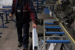 Werkstattsbetrieb: Hier wird Alu, Stahl und Edelstahl verarbeitet<br />