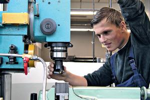 Das Berufskolleg Werther Brücke in Wuppertal bietet in seinen Werkstätten einen modernen Maschinenpark<br />
