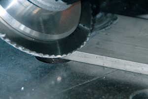 Beeindruckender Materialabtrag beim Fräsen in Leichtmetall.<br />