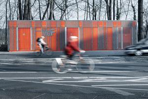 2. Preis Gleichrichterwerk, Rennbahnstraße, Frankfurt-Niederrad<br />Schoyerer Architekten BDA, Mainz<br />
