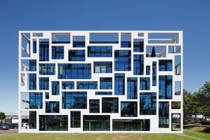 """<div class=""""bildtext"""">Die markante Architektur der QBIG-Bürogebäude soll die Mieter stärker ans Objekt binden – im Bild QBIG two.</div>"""