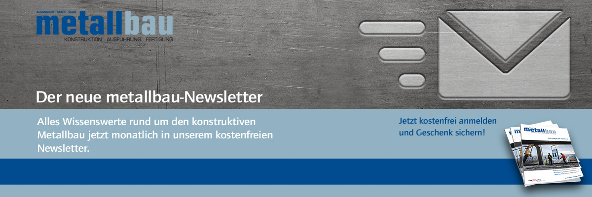 Metallbau Newsletter